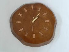 Vintage Retro Wooden Battery Operated Wall Clock