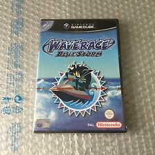VINTAGE NINTENDO GAMECUBE# WAVERACE BLUE STORM#SEALED RED STRIP# PAL