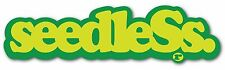 seedleSs Clothing Coop Big Green Smoke Sticker Decal Logo Slap Rasta 420 71