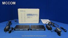 Wevi Video Wave VW-5 Wireless Video Transmission System w/ RX, TX, IR Cable