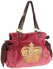 $188 NWD Juicy Couture Bag Vintage Crown Velour Miss Daydreamer