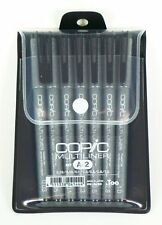 Copic Markers MLA2 Multiliner Inking Pen, Set A-2 0.03/0.05/0.1/0.3/0.5/0.8/1.0