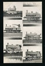 Railway L&NWR Engines M/view Official unused c1900s? PPC
