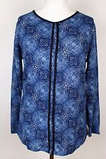 NEW WOMEN  TUNIC BLOUSE size 18/20 TOP  LONG SLEEVE  LADIES  6733