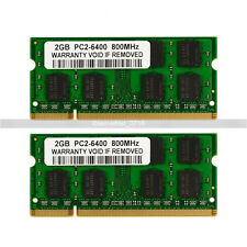 NEW  2GB PC2-6400 DDR2-800 800Mhz 200pin DDR2 Sodimm  Laptop Memory RAM Upgrade