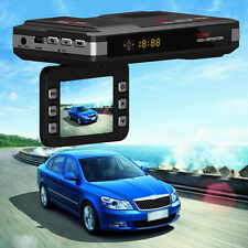 2 in 1 Car DVR Camera Video Recorder Radar Laser Speed Detector Track