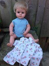 Vintage Palitoy Tiny Tears 1968 vintage dolls with romper & pyjamas