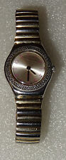 MONTRE FEMME SWATCH IRONY SWISS AG 2003. MADE IN SUISSE BRACELET ORIGINE SWATCH