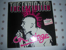 THE EXPLOITED ~ On Stage ~ LIVE Collectors Album LP YELLOW VINYL