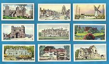 Cigarette/Trade cards...HISTORIC EAST ANGLIA - Full Original Set - 1961