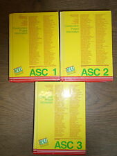 * 3 ASC MINI FILE BROCHURES by ASC BOOKS * UK FREE POST * HARDBACKS *