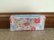 Handmade With Cath Kidston Bright Pop Pink - Fabric Pencil/Make-Up/Glasses Case