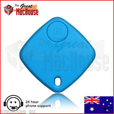 Bluetooth Key Finder with Selfie Function – Blue