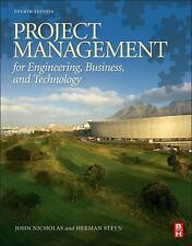 Project Management For Engineering Business And Technology International Edition