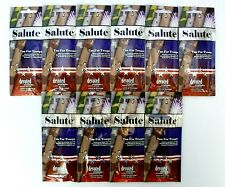 """DEVOTED CREATIONS """"SALUTE"""" TAN FOR TROOPS - LOT OF 10-.7Z PKTS - NEW, $65.RV"""