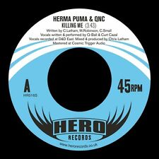 Herma Puma QNC - Killing Me / I Did It (For Hip Hop) 7""
