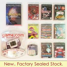 ALL NEW. Tiger Game Com PRO Console with 9 games, NET software.. (Retrogame)