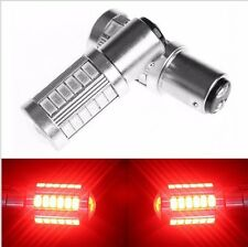 2X Red 1157 P21W  33 SMD 5630 LED Car Tail Stop Brake Lamp Bulb DC 12V Light