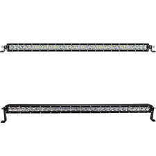 "Slim 40"" 200W Offroad Single Row CREE Chips LED Light Bar Combo Beam 41Inch"
