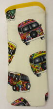 BN-VW CAMPER VANS  - white  - GLASSES CASE ideal small gift