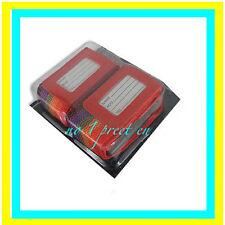 2 x Cinghia Regolabile Cinturino Bagagli Valigia Bag Set Nome Indirizzo Etichetta Tag Cinghie