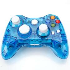 Blue Afterglow Wireless Remote Controller Gamepad for Microsoft Xbox 360 Console