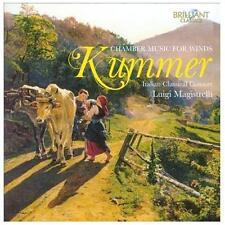 Caspar Kummer Musique de chambre pour instruments à vent, New Music