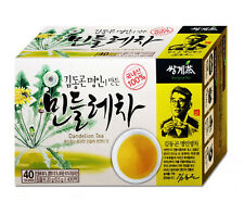 40 Tea bags Dandelion Tea to Detoxify and Cleanse Liver, Korean Taraxacum Herbs