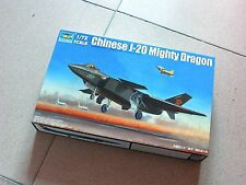 "Trumpeter 1/72 #01663 PLAAF J-20 ""Mighty Dragon"""