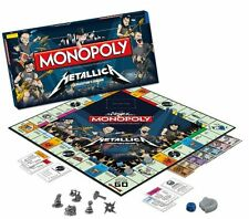 Metallica Monopoly Collectors Edition  *BNIB *
