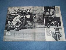 "1980 Honda CB750F Vintage Motorcycle Info Article ""What a Difference 4 Months..."