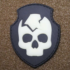 PATCH JTG 3D GOMME STALKER BANDITS DEATH PAINTBALL AIRSOFT MILITAIRE INSIGNE