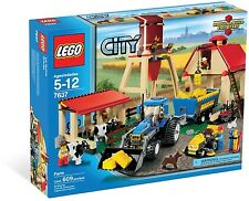 Lego 7637 Farm ** Sealed Box ** Farmer 2 Cows