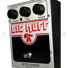Electro-Harmonix Big Muff Pi Classic Fuzz Distortion Guitar EHX Effects Pedal