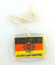 #e3447 Abzeichen / Wackelbild 20 Jahre DDR Deutsche Volkpolizei Polizist Auto