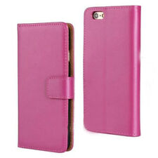 Luxury Leather +PC Flip Wallet Stand Case Cover For iPhone 4s 5 6 plus Samsung