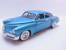 LOT 38959 Franklin Mint 1:24 Tucker Torpedo 1948 4-door Modellauto neuwertig