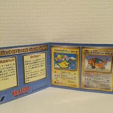 Pokemon ANA Airlines Flying Dragonite Pikachu Promo Set Ultra Rare Japanese