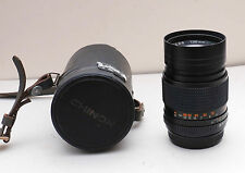 CLASSIC AUTO CHINON 135mm f/2.8 PENTAX PK Mount Camera Lens