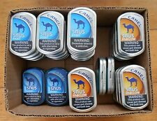 Lot 37 Empty Camel Snus Tins/Cans Crafts Survival Backpacking Fishing