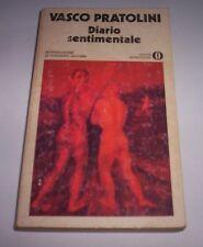 DIARIO SENTIMENTALE Vasco Pratolini 1977 Mondadori libro