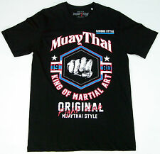Top MUAY THAI FIGHT CLUB T-Shirt - KING OF MARTIAL ART -Kickboxen-Shorts-UFC-MMA