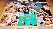 PIRANHAS !  joe dante jeu 10 photos cinema lobby cards fantastique 1978