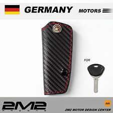 Leather Key fob Holder Case Chain Cover FIT for BMW C600 C650GT G650GS F800