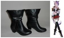 Final Fantasy Xiv Miqo'te Ff14 Miqote Cosplay Costume Boots Boot Shoes Shoe