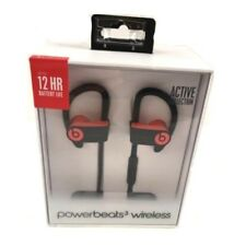 Beats By Dr. Dre Powerbeats 3 Siren Red Wireless In Ear Earbuds Bluetooth Headph