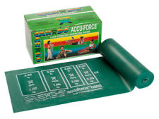 CanDo AccuForce Exercise Band-6 yard roll-Green-medium-1465993 10-5913 NEW