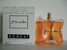 Kookai - Oui-Non de Kookai EDT Nat Spray 100ml - 3.4 Oz NIB Testeur