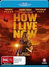 How I Live Now Blu-ray Discs NEW