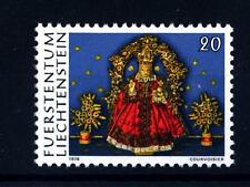 LIECHTENSTEIN - 1976 - Natale. Lavori d'arte monastica in cera